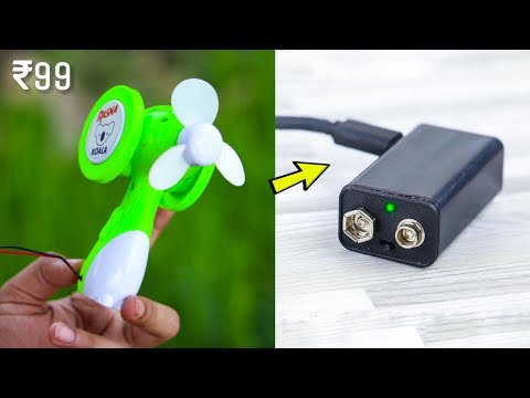 5 NEW ELECTRONIC GADGETS YOU MUST HAVE ▶ Mini Fan Gadget Inventions