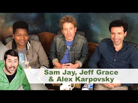 Post Sesh Interview w/ Sam Jay, Jeff Grace & Alex Karpovsky | Getting Doug with High