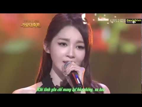 [Vietsub+Kara] A Million Roses - Davichi ( Kang Min Kyung ft Lee Haeri)