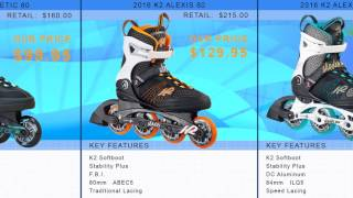 2016 K2 Womens Inline Skate Buying Guide by InlineSkatesDotCom