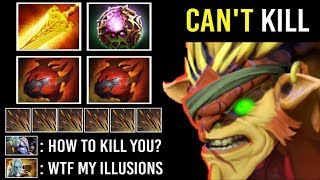 -90% Damage 40% Lifesteal Pro Bristle vs Silver Edge Can't Kill Him Ez Counter Lancer 7.23 Dota 2