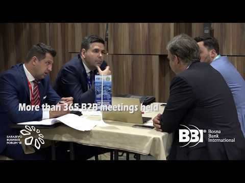 Sarajevo Business Forum (SBF) 2018 Post-Forum Video (3 min)