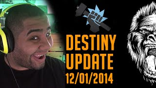 New Destiny Update - Exotic Weapon Buffs ,Suros regime Nurf , Glitches & More