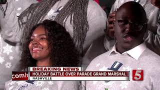 Kid Rock out as Christmas Parade Grand Marshal, James Shaw Jr. invited to be honored
