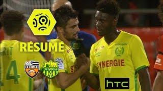 FC Lorient - FC Nantes (1-2)  - Résumé - (FCL - FCN) / 2016-17