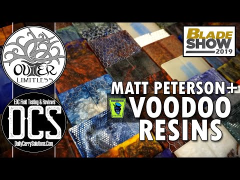 Voodoo Resins - Handle Making Magic with Matt Peterson - Blade Show 2019