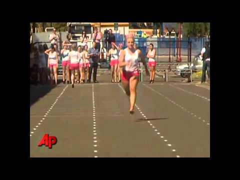 Women Running in Stilettos!