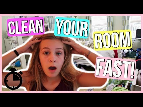 How To Clean Your Room IN 10 MINUTES! | Gianna MacLaine