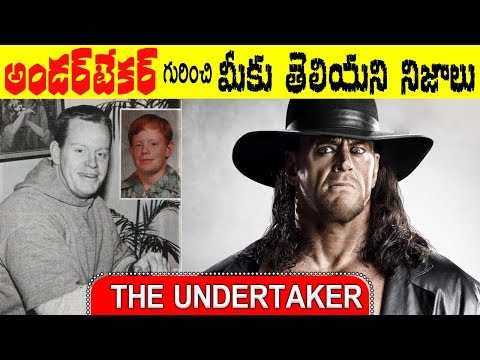 The Undertaker Life Story in Telugu | Unknown Facts about WWE Superstar | Remix King