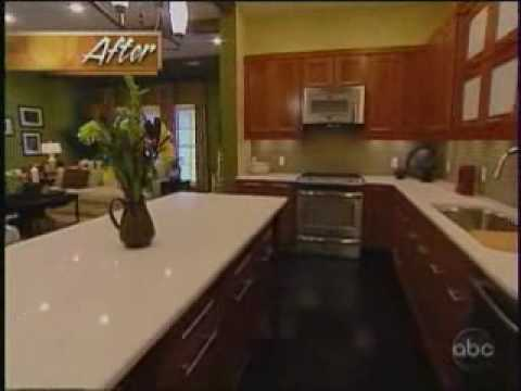 Silestone on extreme makeover home edition episode 721 05 for Extreme makeover home edition design game
