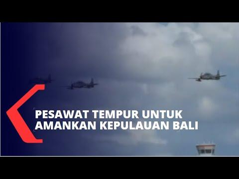 Download TNI AU Kirim 4 Pesawat Tempur Amankan Kepulauan Bali