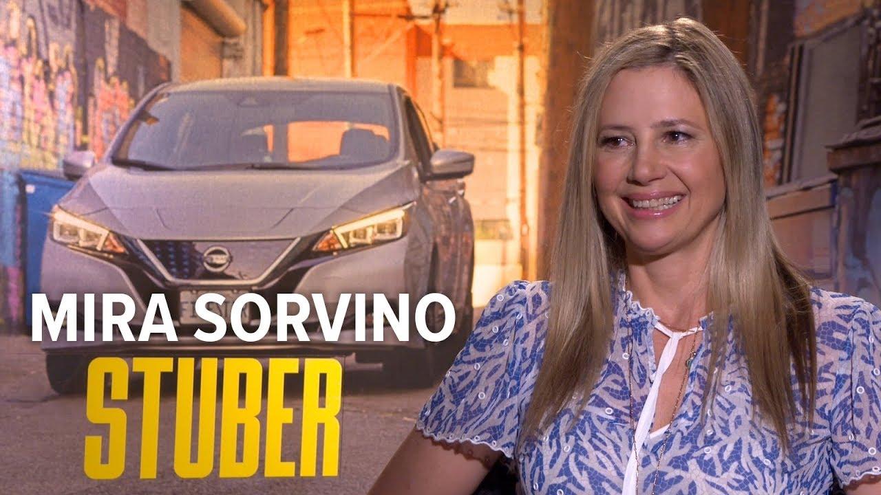 Mira Sorvino 'Stuber' Interview | Extra Butter