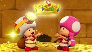 Captain Toad: Treasure Tracker - Secret Final Level - Mummy-Me Maze Forever + Reward