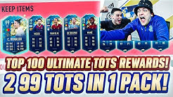 MY BEST 30-0 REWARDS EVER! 2 99 TOTS IN SAME PACK! TOP 100 FUT CHAMPIONS ULTIMATE TOTS!! Fifa 20!