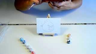 Идеи подарков: Картины на холсте по номерам (видео обзор)