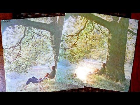John Lennon / Plastic Ono Band - 1970 EEC & UK - 2 Vinyl albums unboxing and comparison