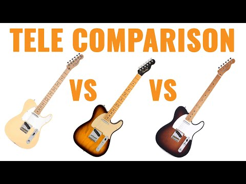 Comparing Fender Electric Guitar Series | CME Gear Demo