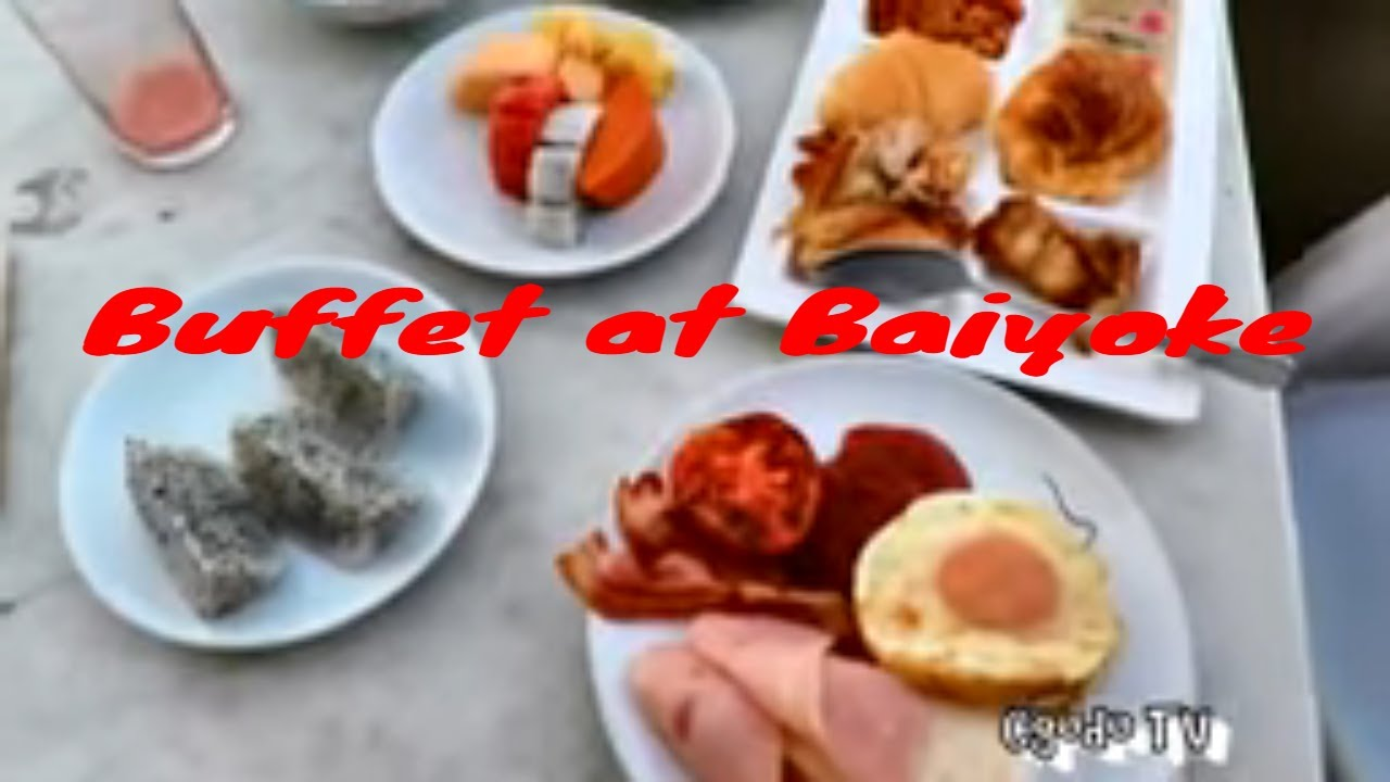 breakfast buffet review at baiyoke sky bangkok buffet at the rh youtube com