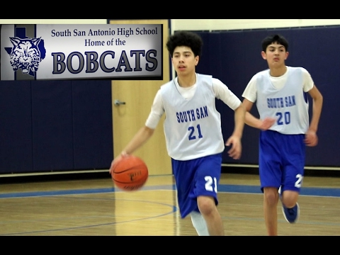 South San Freshmen Boys Basketball Scoring Reel vs Alexander