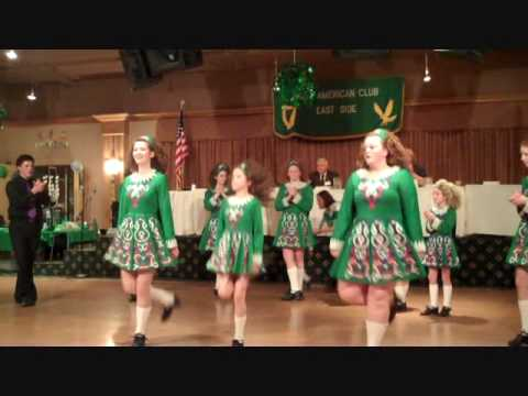 Irish Dancers from the Leneghan Academy in Cleveland