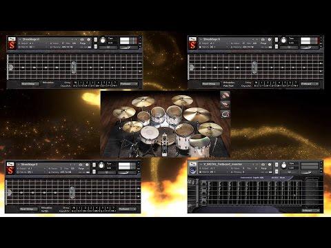 AST-1 - Instrumental Progressive Metal [Shreddage 2 - EzDrummer 2 - V-Metal]