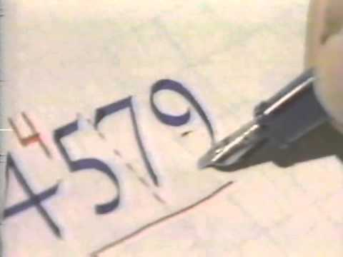 Lloyd Reynolds' Italic Calligraphy & Handwriting Episode 6