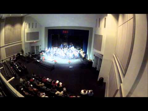 "Bon Lin Middle School Concert Band performs ""December Sky"""