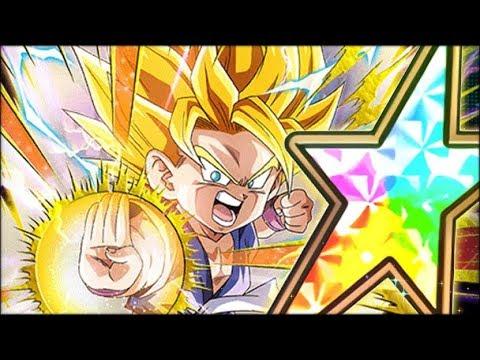 LONG AWAITED! 100% RAINBOW STAR PHY GT SSJ2 GOKU SHOWCASE! (DBZ: Dokkan Battle)