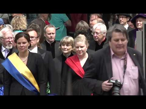Doktorspromotionen i Lund 2017
