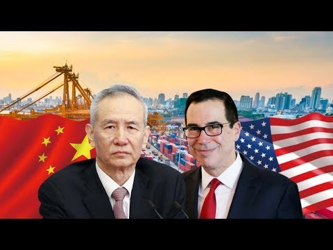 US trade team in China for talks