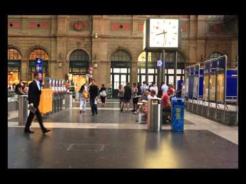 Amazing Railway Station Zürich ZRH Timelapse - Zeitraffer SBB