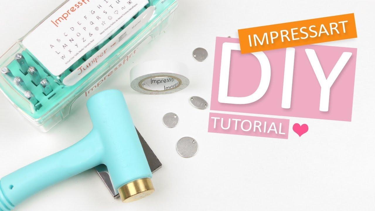 Verwonderend ImpressArt | Basis technieken metaal stempelen DIY Tutorial - YouTube IR-89