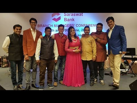 Dançing medley performed @ Saraswat bank meet