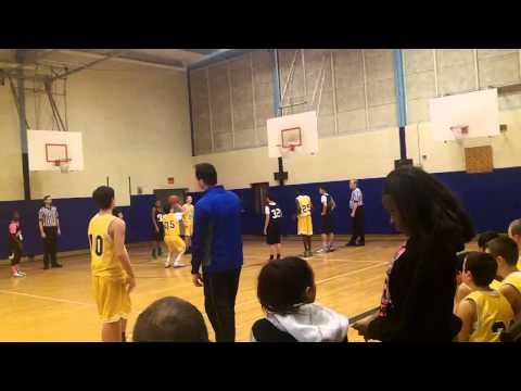 FFMS Gold Basketball