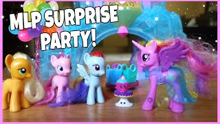 MY LITTLE PONY SURPRISE BIRTHDAY PARTY!