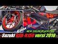 Review New Color Suzuki Gsxr-150 Versi 2018 | Black Fire Keren