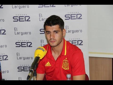 Entrevista de Morata en 'El Larguero' 10/04/2016