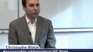 MBA ISC Paris - MBA Marketing management des industries du Luxe - Part-Time