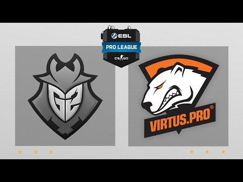 CS:GO - G2 vs. Virtus.pro [Nuke] Map 1 - ESL Pro League Season 5 - EU Matchday 26