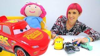 Молния МАКВИН и ПОЛНЫЙ ПОРЯДОК 6 #КапукиКануки 👍 Цифры - МАШИНКИ 🏎🚌🚗 Видео для детей с игрушками