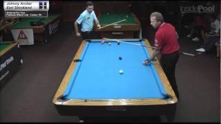 Earl Strickland vs Johnny Archer at FiddleStix Billiards Cafe