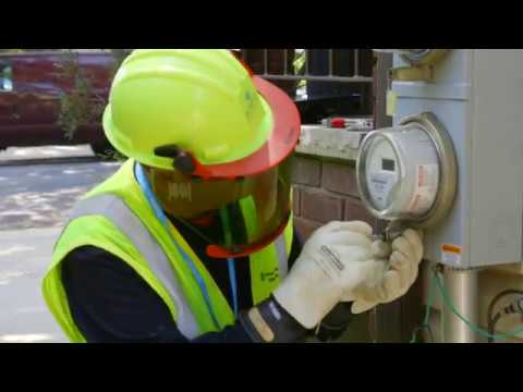 NYC Smart Meter Installation B Roll
