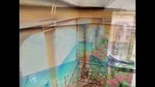 Роспись стен на кухне Терраса с видом на море (completion)(Нестандартный декор стен, потолков, реставрация мебели с помощью художественных приёмов и современных..., 2014-04-12T09:32:38.000Z)