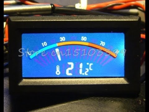 Установка электронного  датчика температуры DAEWOO NUBIRA, NEXIA, LANOS, Shevrolet AVEO, LACETTI.