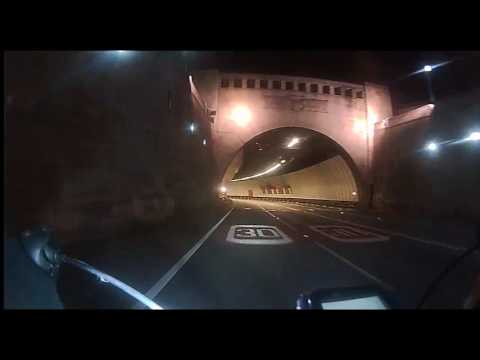 Cycling the Mersey Tunnel: Birkenhead to Liverpool and Liverpool to Birkenhead