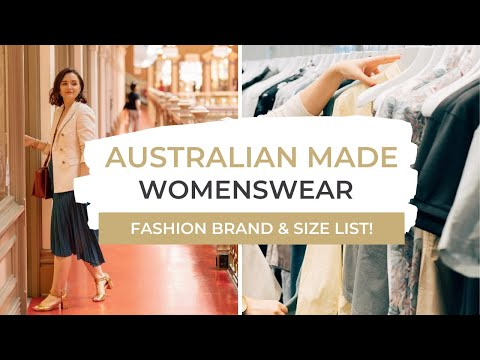 Australian Made Fashion Brands To Shop In 2020