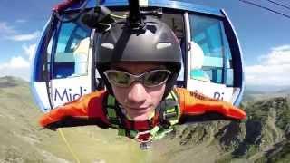 Téléphérique du Pic du Midi - Rope jump 240m (record de France)