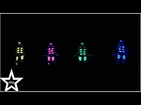 Amazing LED Dance - Patman Crew