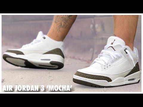 Air Jordan 3 'Mocha' 2018 Review
