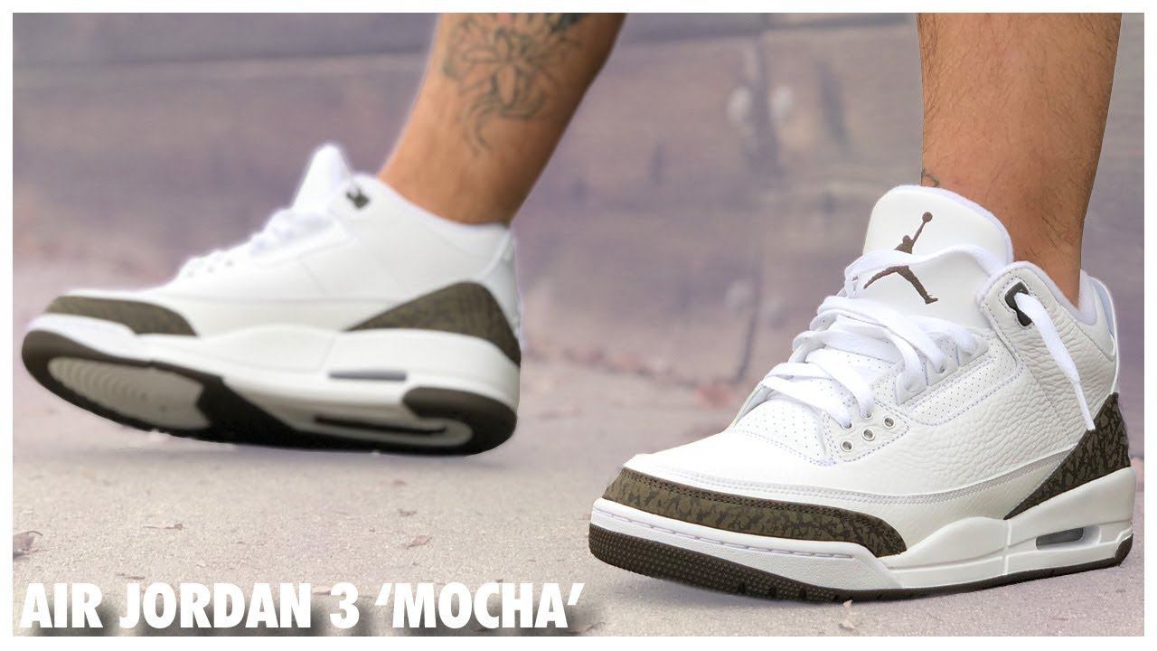 brand new 9f044 f213e Air Jordan 3 'Mocha' 2018 Review - WearTesters